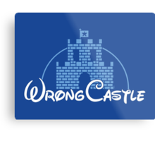 Wrong Castle Metal Print