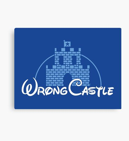 Wrong Castle Canvas Print