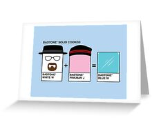 Badtones Greeting Card