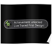 Achievement Live Traced! Poster