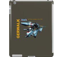 Macross Robotech Gerwalk Battroid Valkyrie VF-1 iPad Case/Skin