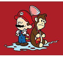 Mario and Kong Photographic Print