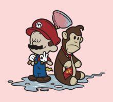 Mario and Kong Kids Clothes