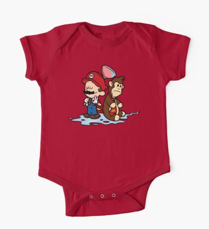 Mario and Kong One Piece - Short Sleeve