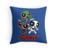 The Powerpuft Ghouls Throw Pillow