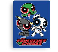 The Powerpuft Ghouls Canvas Print