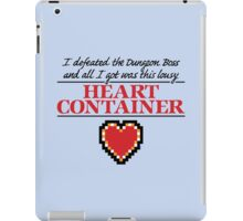 Lousy Heart Container iPad Case/Skin