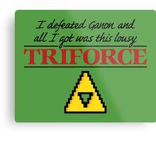 Lousy Triforce Metal Print