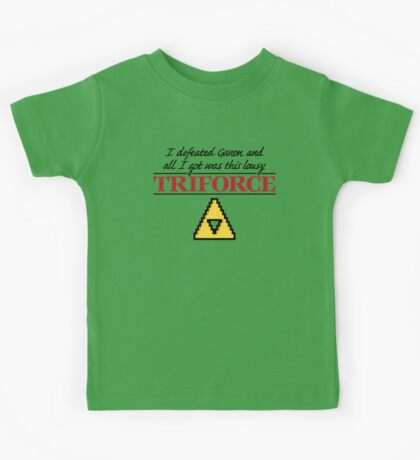 Lousy Triforce Kids Clothes