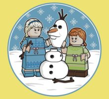 Want to Build a Snowman? One Piece - Short Sleeve