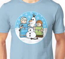 Want to Build a Snowman? Unisex T-Shirt