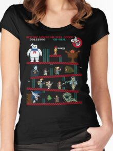 The Real Donkey Puft Women's Fitted Scoop T-Shirt