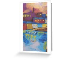 Oil Houses Greeting Card