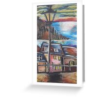 Oil Beachside Greeting Card