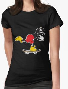 rollin Womens Fitted T-Shirt