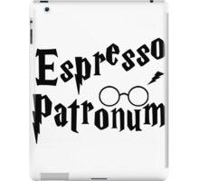 Espresso Patronum Potter Head iPad Case/Skin