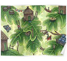 Little Leaf Village Poster