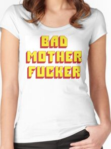 Bad Mother Fucker Women's Fitted Scoop T-Shirt