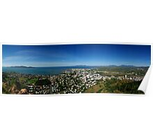 Townsville from Castle Hill Poster
