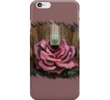 There's a rose. iPhone Case/Skin