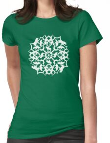Spotted Hyena ZOOFLAKE Womens Fitted T-Shirt