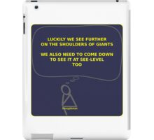 Thought Man - Giants iPad Case/Skin