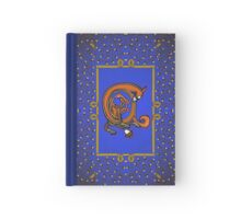 Letter A Squirrel Book page Hardcover Journal