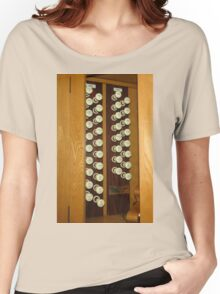 Organ Stops - Exeter Cathedral Women's Relaxed Fit T-Shirt