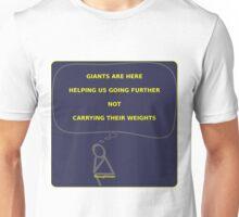 Thought Man - Giants Unisex T-Shirt