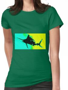 Electric sailfish Womens Fitted T-Shirt