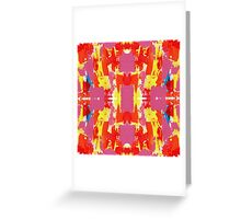 Abstract Expression 7 by Michael Moffa Greeting Card