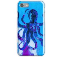 Salty octopus iPhone Case/Skin