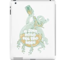 In Just Here For The Boos T Shirt iPad Case/Skin