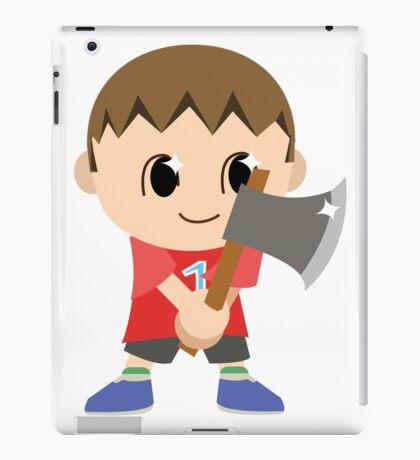 Chibi Animal Crossing Villager Vector iPad Case/Skin
