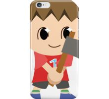 Chibi Animal Crossing Villager Vector iPhone Case/Skin