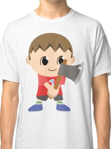 Chibi Animal Crossing Villager Vector Classic T-Shirt