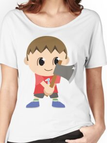 Chibi Animal Crossing Villager Vector Women's Relaxed Fit T-Shirt
