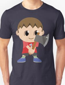 Chibi Animal Crossing Villager Vector Unisex T-Shirt