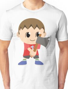 Chibi Animal Crossing Villager Vector Unisex T-Shirt