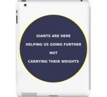 Science - Giants iPad Case/Skin