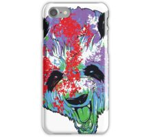 Realistic Paint Panda iPhone Case/Skin