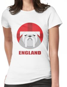Football - England Womens Fitted T-Shirt