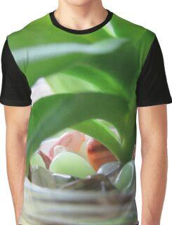 Backlit Succulent Graphic T-Shirt