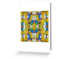 Abstract Expression #8 by Michael Moffa Greeting Card