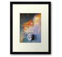 born unto earth Framed Print