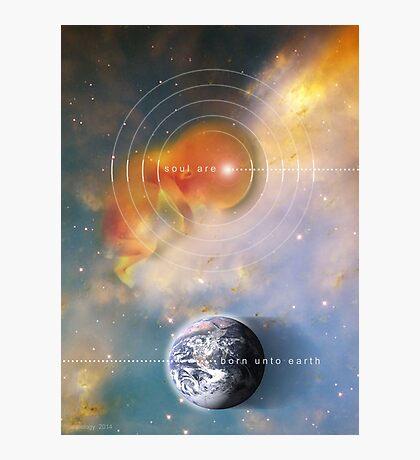 born unto earth Photographic Print