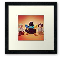 Vader's Weekend Framed Print