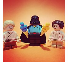 Vader's Weekend Photographic Print