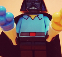 Vader's Weekend Sticker