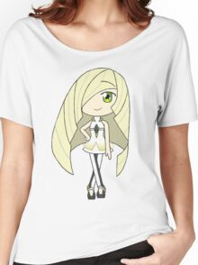 Pokemon Sun/Moon Lusamine Women's Relaxed Fit T-Shirt